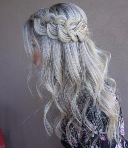Hairstyles For Thin Hair Medium Hair Styles Hair Styles Down Hairstyles Half Up Wedding Hair