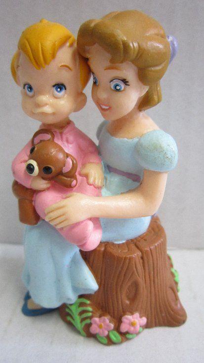 Disney Peter Pan Michael   Comicfigur Figur Walt Disney Peter Pan Michael und Wendy DISNEY STORE ...