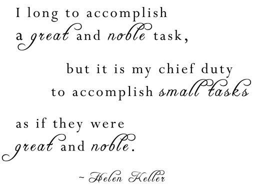 For the daily mundane tasks of life