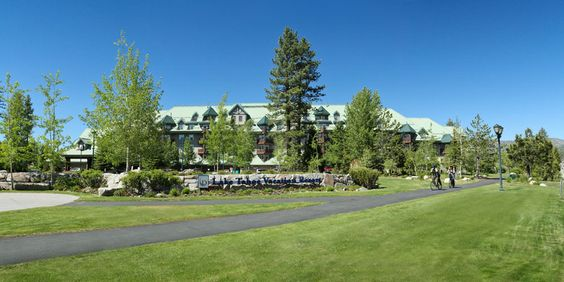 View of the Lake Tahoe Vacation Resort in the Summer