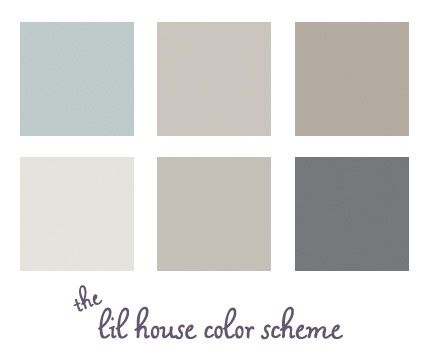 This is the color scheme of my house... people we bought it from have good taste!.