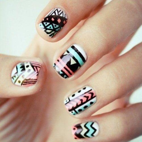 diseños de uñas cortas - Buscar con Google