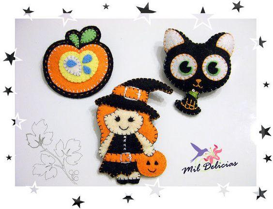 Halloween feltro