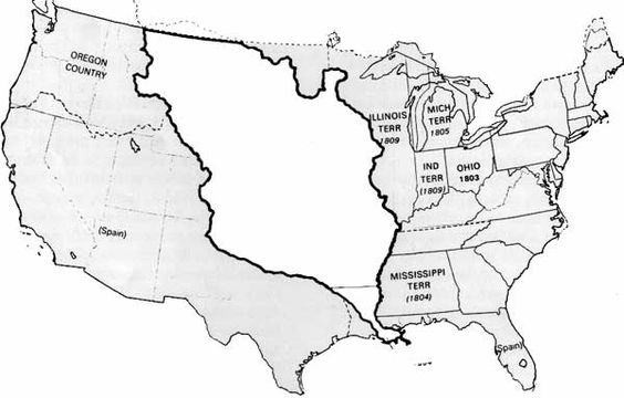 Louisiana Purchase Map Worksheet Answers - Worksheets