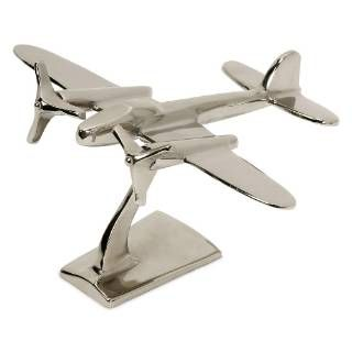 Check out the Imax Worldwide 60067 Up In The Air Plane Statuary priced at $36.98 at Homeclick.com.