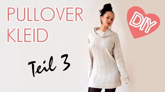 Im 3. Teil zeige ich dir die letzten Schritte um das Pullover Kleid zu beenden. Wenn dir das Video gefällt, schau dir doch auch mal meine Mode an ;-) http://...