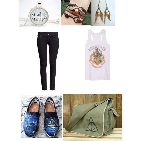 """Off to Hogwarts!"" by chloebear20 on Polyvore"