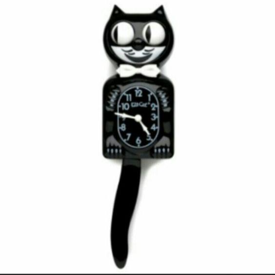Kitty Cat Reloj de pared