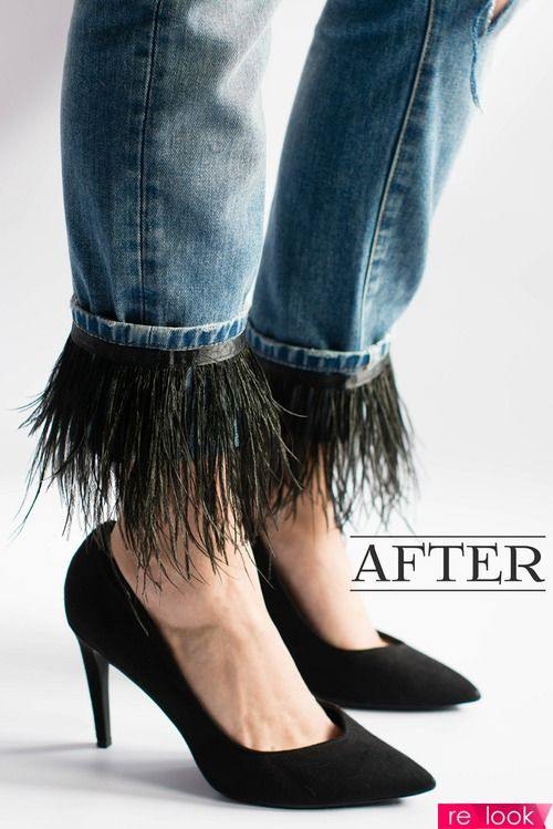 Как обновить старые джинсы? 8 стильных идей: Мода и стиль - мода на Relook.ru