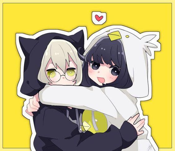 صور انمي صديقات كول كيوت Friend Anime Anime Best Friends Cute Anime Character