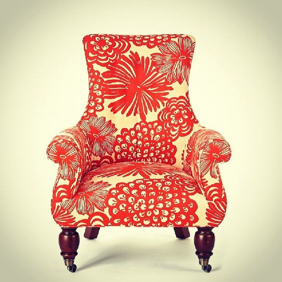 Photo by gibidesign - Anthropologie Astrid Chair #furniture #chair #colorful