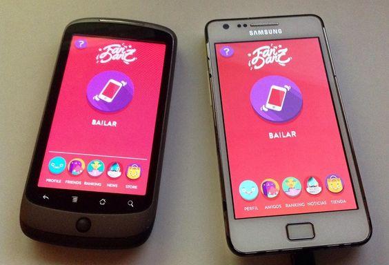 FanDanz sobre Android
