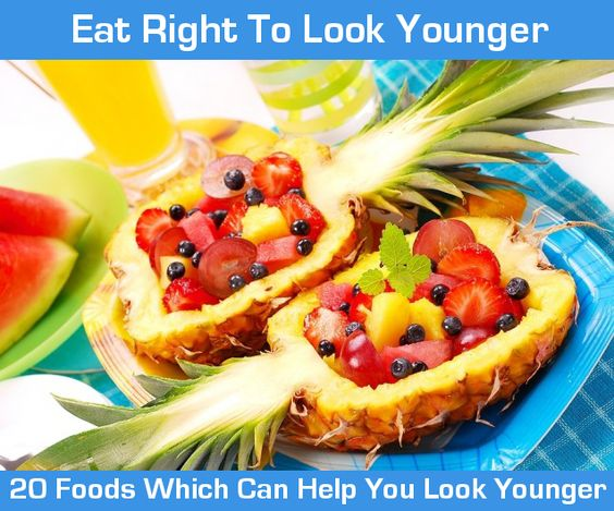 20 Foods That Can Make You Look Younger
