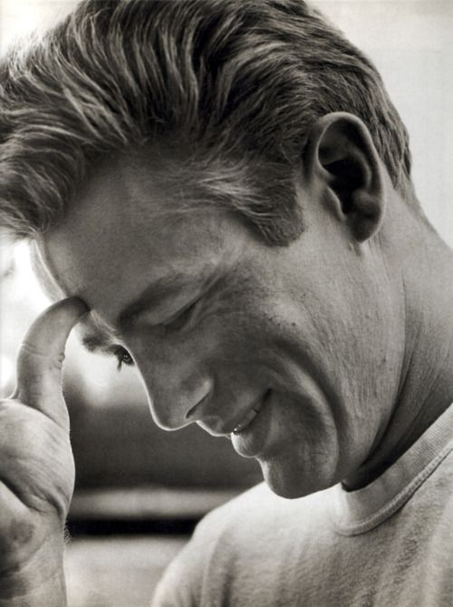 James Dean. Beautiful.