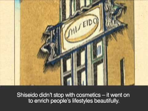 Shiseido at 140 years - a history in video
