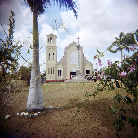 Central America Belize North Orange Walk Town
