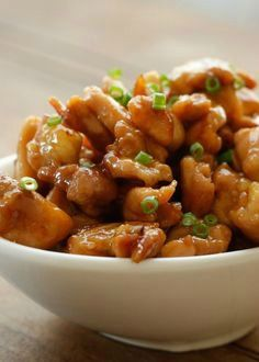 Sweet and just a little bit spicy, these Honey Sriracha Chicken Bites disappeared lightning fast. Tender, bite size chunks of chicken cook in just minutes and then are tossed with an irresistible sticky glaze.: