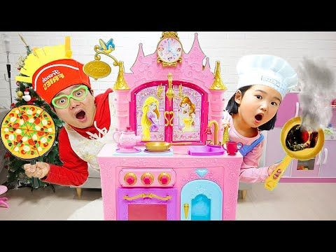 Pizza Toys Playset Mainan Masak Masakan Membuat Pizza Let S Play Boram Youtube In 2020 Kids Videos Playset Kids
