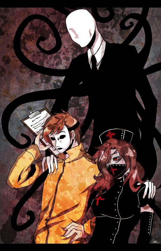 Slender Man, Masky and Nurse Ann