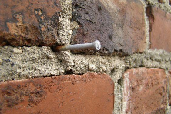 bricks nails  nail patterns  pinterest