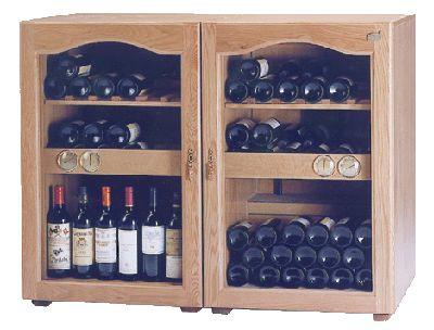Bodegas climatizadas (armarios climatizados) para conservacion de botellas vino.:
