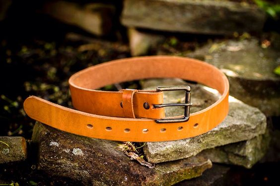 Our new Heavy Duty steer hide belt. For work, for camping, for hunting or four wheeling. You name it! 39.99 guaranteed for life!