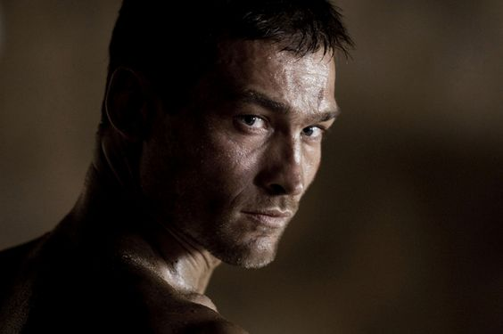 The new Spartacus doesn't have Andy's smolder...RIP Andy Whitfield
