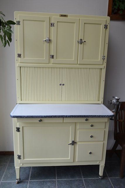Cabinets style inspiration and hoosier cabinet on pinterest for Antique free standing kitchen cabinets