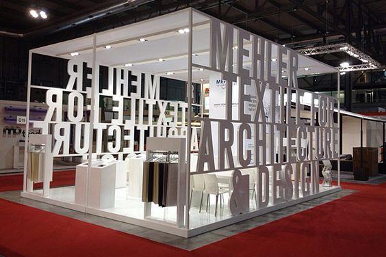 Diseño de stands tipográficos                                                                                                                                                     Más