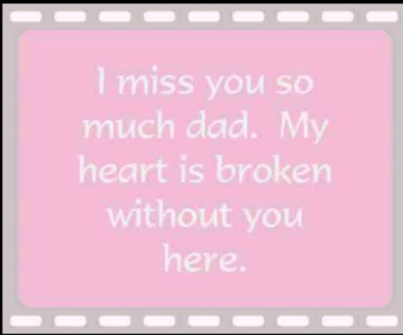 I Miss You So Much Daddy, Nothing Has Been The Same