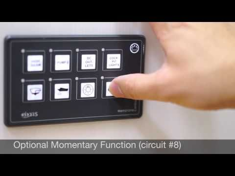 Sp5030 Marine Membrane Touch Switch Panel Introduction Youtube Membrane Paneling Switch