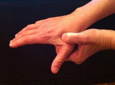 Afbeeldingsresultaat voor drukpunt tussen duim en wijsvinger