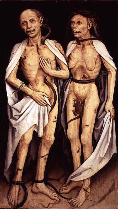 The Dead Lovers, Anonymous (Was attributed to Matthias Grünewald)