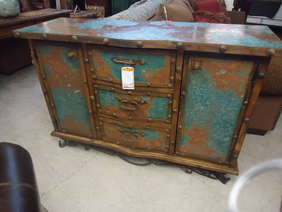Copper and Turquoise on Pinterest