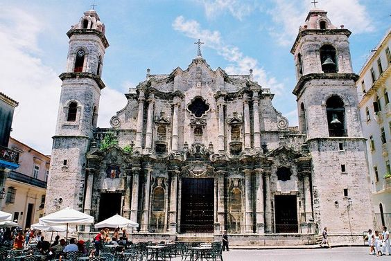 Baroque cuba and catholic churches on pinterest for Baroque style church