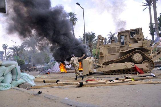Decenas de muertos en las acampadas pro Mursi en Egipto - eldiariomontanes.es