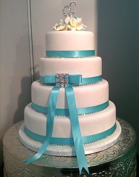 turquoise wedding cakes the world s catalog of ideas 21312