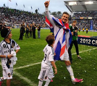 El Galaxy despidió a Beckham como campeón de la MLS - MARCA.com
