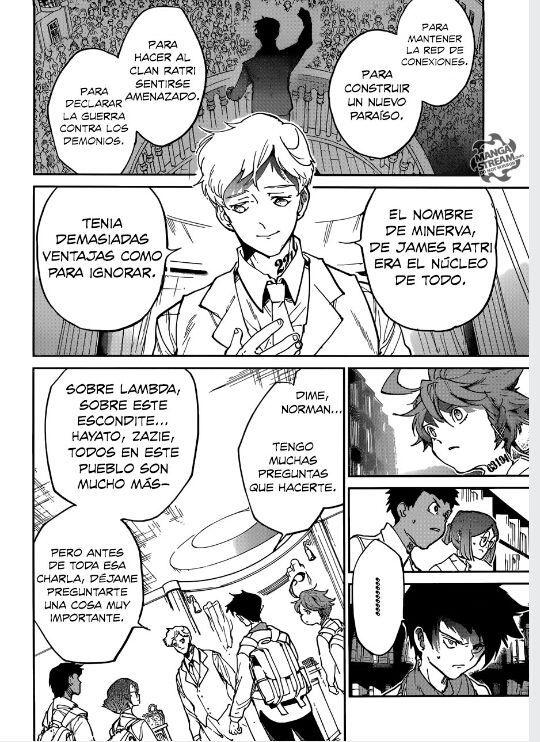 The Promised Neverland Manga Yakusuko No Neverland Espanol Latino Capitulo 119 En 2021 El Pais De Nunca Jamas Imagenes De Manga Anime Leer Manga