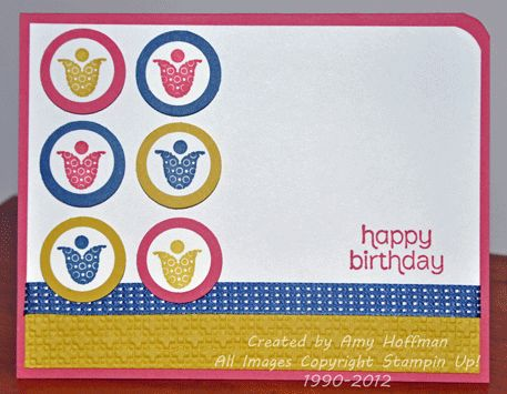 Stamp and Scrap with Amy: Retro Sketch 18