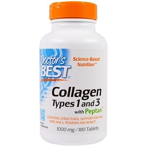 Doctor S Best Collagen Types 1 And 3 With Vitamin C 1 000 Mg