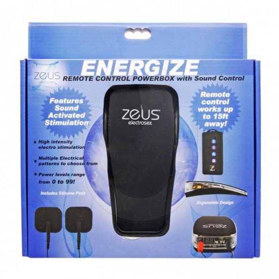 Zeus Voice Controlled E-Stim Chastity System - Male Chastity Devices - Chastity Devices | UberKinky