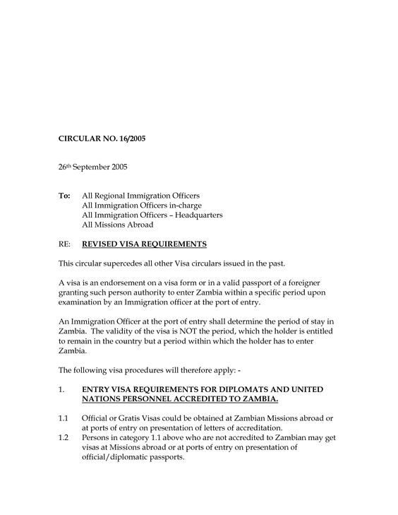 Zambia Visa Cover Letter Template Resume Format Lettering Reference Letter Template Cover Letter Format