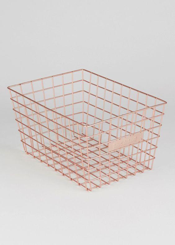 This & That' Basket (29cm x 16cm) £6 Matalan