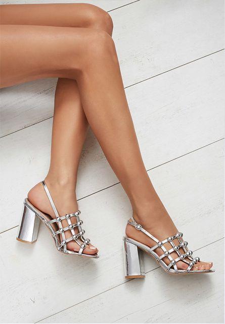 Promotie Sandale Dama Los Alares Argintii