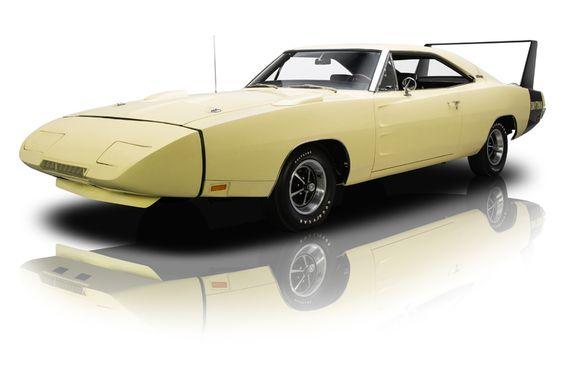 1969 Dodge Charger Daytona Yellow For Sale
