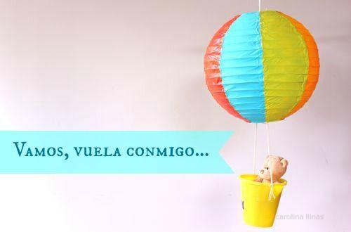 Globos de papel para decorar fiestas   Blog de BabyCenter