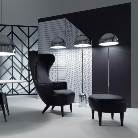 Bell Floor Lamp Menu Furniture Black Ottoman Furniture Upholstery