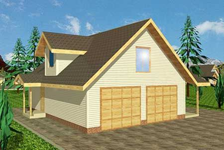 Carriage house floors and 2nd floor on pinterest for Garage with upstairs living quarters