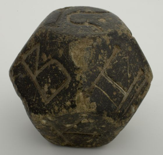 Dodecahedron, c. 300-500 AD Roman, 2nd-3rd century AD Harvard art museum